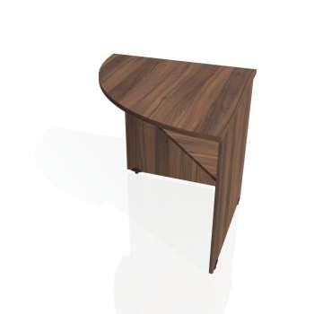 Přídavný stůl Hobis GATE GP 902 levý, ořech/ořech