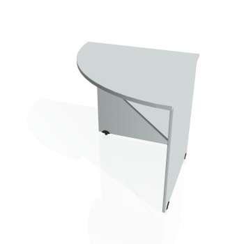 Přídavný stůl Hobis GATE GP 902 levý, šedá/šedá
