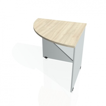 Přídavný stůl Hobis GATE GP 902 levý, akát/šedá