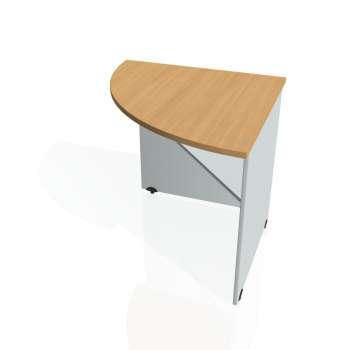 Přídavný stůl Hobis GATE GP 902 levý, buk/šedá