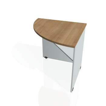 Přídavný stůl Hobis GATE GP 902 levý, višeň/šedá