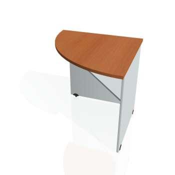 Přídavný stůl Hobis GATE GP 902 levý, třešeň/šedá