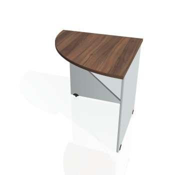 Přídavný stůl Hobis GATE GP 902 levý, ořech/šedá