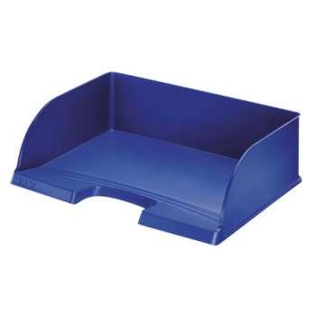 Zásuvka Leitz Jumbo Plus na šířku, modrá