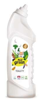 Čisticí přípravek na WC Real green clean - 750 g