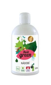 Prostředek na mytí nádobí Real green clean - 500 g