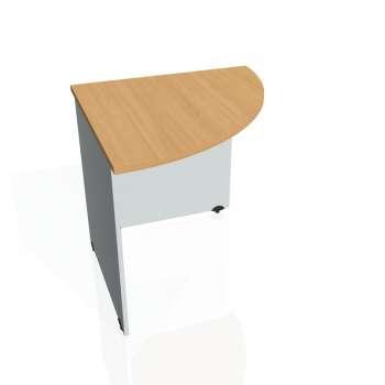 Přídavný stůl Hobis GATE GP 902 pravý, buk/šedá