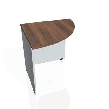 Přídavný stůl Hobis GATE GP 902 pravý, ořech/šedá