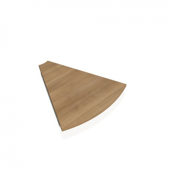 Doplňkový stůl GATE, deska kruh 45°