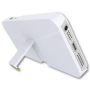 Kryt pro iPhone5/5S se stojánkem LEITZ Complete  - bílý