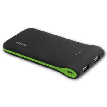 Univerzální USB nabíječka LEITZ Complete - černá