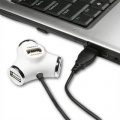 USB rozbočovač Axago, bílá