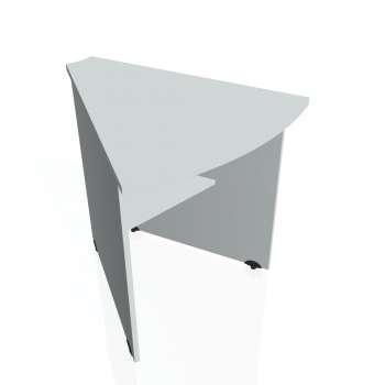 Přídavný stůl Hobis GATE GP 452, šedá/šedá