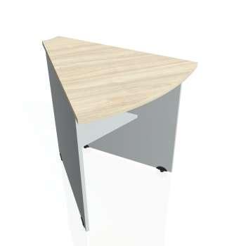Přídavný stůl Hobis GATE GP 452, akát/šedá
