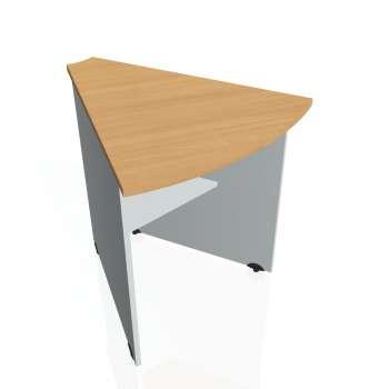 Přídavný stůl Hobis GATE GP 452, buk/šedá
