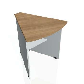 Přídavný stůl Hobis GATE GP 452, višeň/šedá