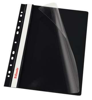Závěsné rychlovazače Esselte Vivida - A4, černá
