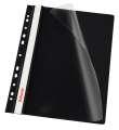 Závěsné rychlovazače Esselte Vivida - A4, černé