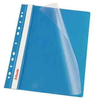 Závěsné rychlovazače Esselte Vivida - A4, modrá