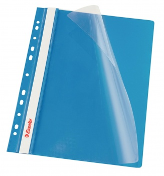 Závěsný rychlovazač Esselte Vivida - A4, modrý, 1 ks