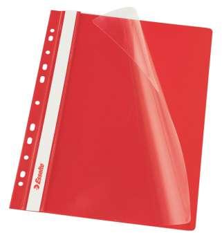 Závěsné rychlovazače Esselte Vivida - A4, červené