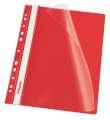 Závěsný rychlovazač Esselte Vivida - A4, červený, 1 ks