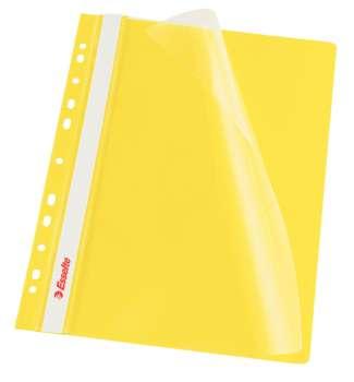 Závěsné rychlovazače Esselte Vivida - A4, žluté