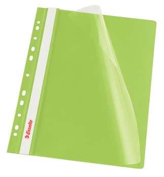 Závěsné rychlovazače Esselte Vivida - A4, zelená
