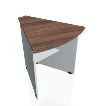 Přídavný stůl Hobis GATE GP 452, ořech/šedá
