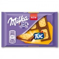 Sušenky s čokoládou Milka TUC - 35 g