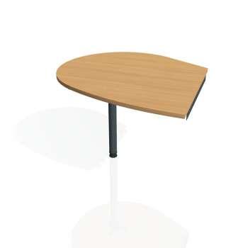 Přídavný stůl Hobis GATE GP 20 levý, buk/kov