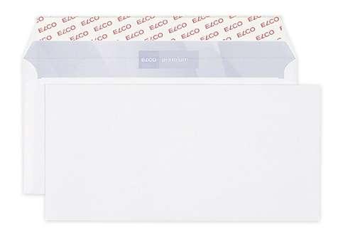 Obálky Elco - C6/5, samolepicí, s krycí páskou, 25 ks