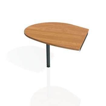 Přídavný stůl Hobis GATE GP 20 levý, olše/kov