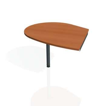 Přídavný stůl Hobis GATE GP 20 levý, třešeň/kov