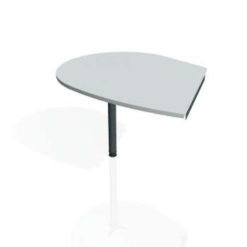 Přídavný stůl Hobis GATE GP 20 levý, šedá/kov