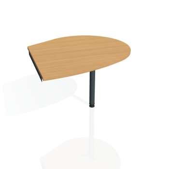Přídavný stůl Hobis GATE GP 20 pravý, buk/kov