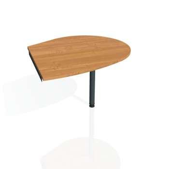 Přídavný stůl Hobis GATE GP 20 pravý, olše/kov