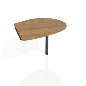 Přídavný stůl Hobis GATE GP 20 pravý, višeň/kov