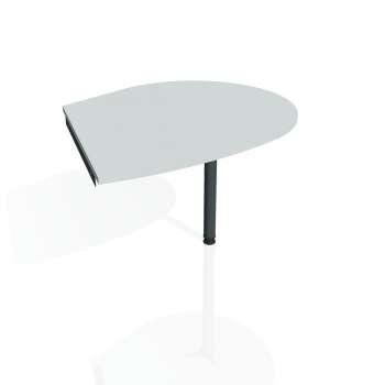 Přídavný stůl Hobis GATE GP 20 pravý, šedá/kov