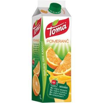 Džus Toma nektar - pomeranč, 1 l