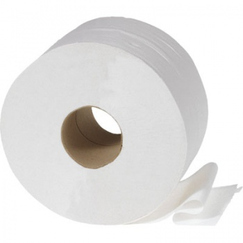 Toaletní papír Jumbo - dvouvrstvý, průměr 26 cm, 6 rolí