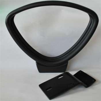 Pevné područky k židli Realspace Jura - černá, 2 ks