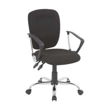 Kancelářská židle Realspace Atlas synchronní - černá