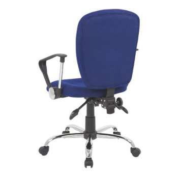 Kancelářská židle Realspace Atlas synchronní - modrá