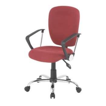 Kancelářská židle Realspace Atlas synchronní - bordó