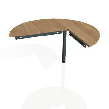 Přídavný stůl Hobis GATE GP 22 levý, višeň/kov