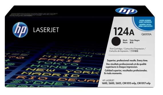 Toner HP Q6000A/124A - černá