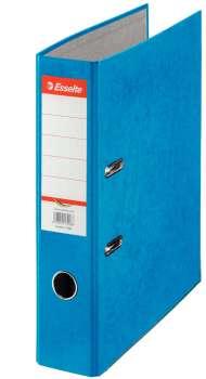Pákový pořadač Esselte - A4, kartonový, hřbet 7,5 cm, modrý