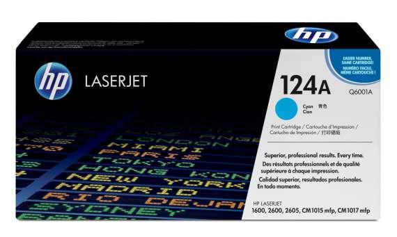 Toner HP Q6001A/124A - azurový