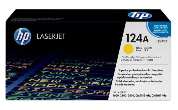 Toner HP Q6002A/124A - žlutý